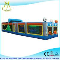 Wholesale Hansel new design long inflatable obstacle for kids and adults from china suppliers