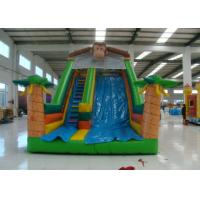 China inflatable monkey slides inflatable slides inflatables bounce jumping castle on sale