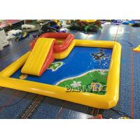 Quality 6 * 6 * 0.65M Portable Water Pool / Large Inflatable Pool Toys For Kids for sale