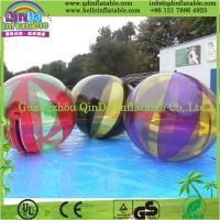 China QinDaTransparent dia 2m water walking ball/ inflatable water balls price water zorb ball on sale