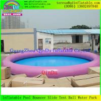 Wholesale Wholesale Best Selling Large Inflatable Swimming Pool For Family Games 0.9mm PVC from china suppliers