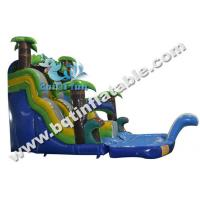 Wholesale Inflatable water slide,water pool slide,plam tree slide,Commercial slide from china suppliers