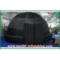 Wholesale Black Round 5m Inflatable Dome Tent Oxford Cloth For Teaching from china suppliers