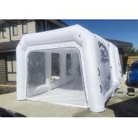 Wholesale White Inflatable Auto Paint Booth / Spray Paint Tent Customized Size from china suppliers