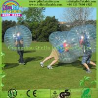 Wholesale Hot Bubble Football Inflatable Bumper Ball for Soccer Game from china suppliers
