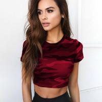 Wholesale Trendy Clothing Womens Sexy Tight T Shirt from china suppliers