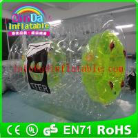 Wholesale QinDa Inflatable Water Rolling Ball inflatables roller roller coaster from china suppliers