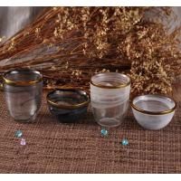 Quality Clear Glass Votive Candle Holders Decorative Glassware Customized for sale