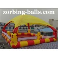 China Inflatable Water Ball Pools with Tent on sale