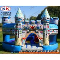 China Round Jumping Inflatable magic castle bounce house Waterproof on sale