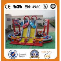 Wholesale Hot Sale high quality commerical inflatables slide in China from china suppliers