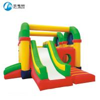 Colorful Inflatable Amusing Bounce Slide Inflatable Jumping Slide For Kids