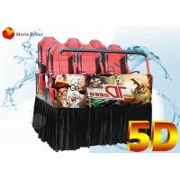 Wholesale Electric / Hydraulic Platform 5D Movie Theater Equipment Cinema Cabin from china suppliers