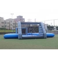 Quality Durable PVC Tarpaulin Inflatable Football Game Field Court Arena Pitch for sale