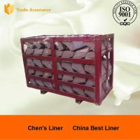 Buy cheap High Cr Steel End Liner Castings HRC43-52 Hardness Abrasion Resistance from wholesalers