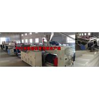 Buy cheap Anti Chemical Corrosion Plastic Board Production Line Crust Foam WPC Board Production Line from wholesalers
