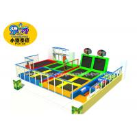 Wholesale Soft Indoor Jumping Trampoline Parks With Many Games For Fitness from china suppliers