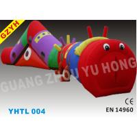 Wholesale EN14960, SGS PVC Inflatable Sports Tunnel YHTL-004 with CE / UL Blower from china suppliers
