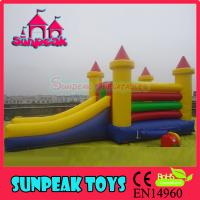 Wholesale COM-146 Hot Products Kids Inflatable Trampoline from china suppliers