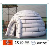 Wholesale Portable inflatable dome tent , blow up Airtight Tent for Outdoor Entertainment from china suppliers