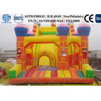 Wholesale Mickey Mouse Kids Inflatable water slide Jumping Games Vinly / Tarpaulin from china suppliers