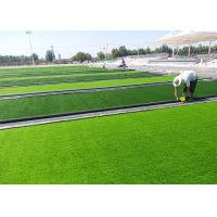 Wholesale Upstraight Futsal Artificial Grass With Dense Surface / Knees Protection from china suppliers