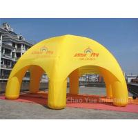 Wholesale 20ft Yellow Inflatable Dome Canopy Tent for sporting events with CE blower from china suppliers