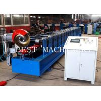 Wholesale Round Shape Rainspout Down Spout Roll Forming Machine 0.5mm Material PPGI and GI Steel from china suppliers