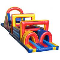 Quality labyrinthine inflatable obstacle course for sale for sale