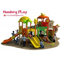 Buy cheap Colorful Outdoor Plastic Playground Playhouse For 3-12 Years Old Children from wholesalers