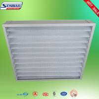 Quality Ventilation Washable Pleated Panel Air Filters Industrial With High Efficiency for sale