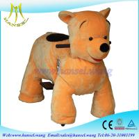 Wholesale Hansel coin operated kids walking animal rides for mall from china suppliers