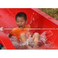 China Customiazed Kids Fun Water Slide for Water Park / Fiberglass Water Park Equipment on sale