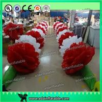 Wholesale 10m Inflatable Rose Flower Chain For Valentine's Day Event Party Decoration Ada Inflatable from china suppliers