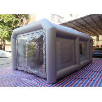Wholesale Portable Waterproof Inflatable Car Paint Spray Booth With Cotton Filter from china suppliers