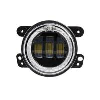 Wholesale 4 inch 30 W 2400LM Car LED Fog Lights With Halo Ring DRL for jeep wrangler JK from china suppliers