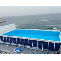 Wholesale Hot sale Metal Frame Swimming Pool for water park from china suppliers