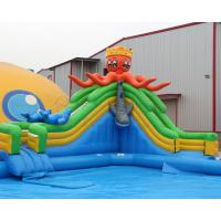 Buy cheap Most Popular PVC Blow up kids mobile inflatable octopus water slide amusement from wholesalers