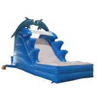 Wholesale Giant Dolphin Inflatable slide from china suppliers