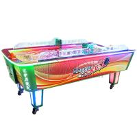 Wholesale Child Amusement Game Machines Coin Operated L Size Curved Air Hockey Table from china suppliers