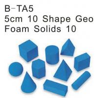 Wholesale 10 Shape Geo Foam Solid, Educational Foam Toys (B-TA5) from china suppliers