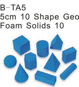 Buy cheap 10 Shape Geo Foam Solid, Educational Foam Toys (B-TA5) from wholesalers