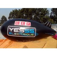 Wholesale Gain Exposure Helium Advertising Zeppelin / Inflatable Blimp For Event Rental from china suppliers