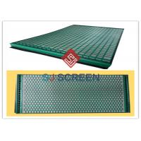 Buy cheap FLC 500 Wave Typed Shale Shaker Screen 1050mm Length High Utilization Rate from wholesalers