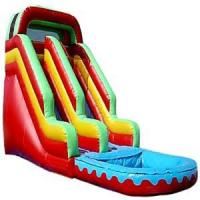 Wholesale Waterpark Equipment , 0.55mm PVC Commercial Inflatable Slide Custom Water Slides 11m Height from china suppliers