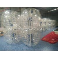 China Rent Big Inflatable Human Bubble Ball Soccer , Indoor Body Zorbing Ball on sale