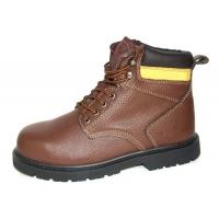 Wholesale High Ankle Leather Comfortable Steel Toe Shoes  , 43'' Size Industrial Work Shoes from china suppliers