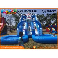 Large Inflatable Water Park Games Giant Inflatable Water Park For Kids
