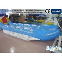Wholesale Water resistance Inflatable Water Game, PVC Floating Banana Boat from china suppliers