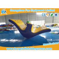 Amazing Inflatable Water Totter Blow Up Water Park Heat Sealing For Kids / Adults